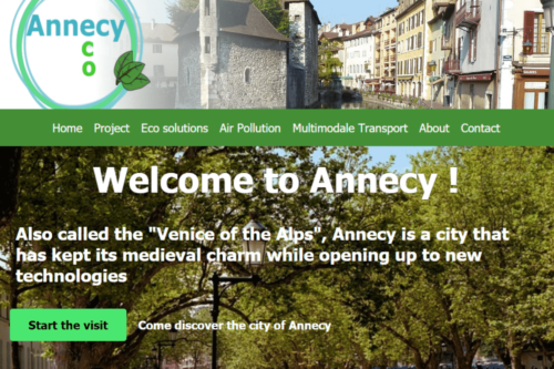 Site web Annecy semaine internationale
